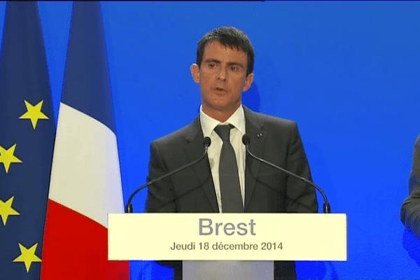 Le Premier ministre ce matin à Brest
