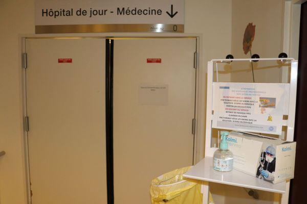 Photo d'illustration au CH d'Arras. Le protocole sanitaire actuellement en vigueur dans les hôpitaux ne permet pas toujours de pouvoir rendre visite à ses proches.