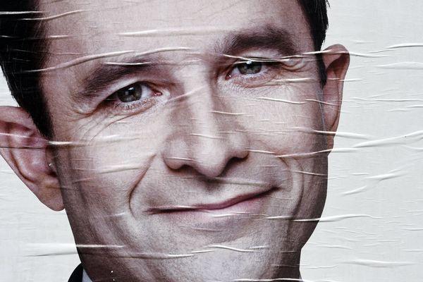 Benoît Hamon n'a obtenu que 9% des voix en Bretagne au premier tour de l'élection présidentielle 2017.