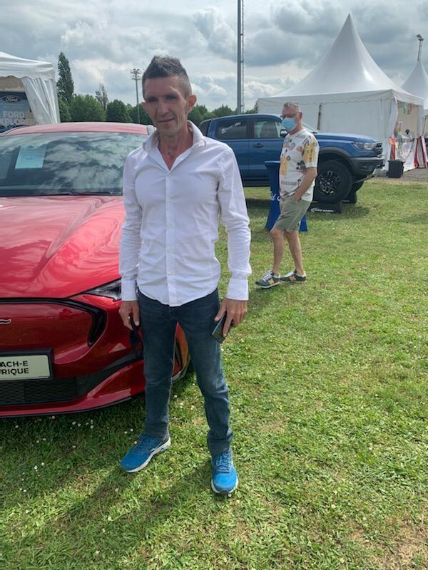 Fabrice Tomazy-Chandor, organisateur de la foire du bien-être à Amnéville (57)