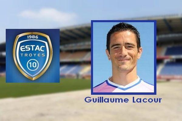 Guillaume Lacour rejoint l'E.S.T.A.C. de Troyes