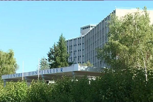 Le centre hospitalier de Blois.