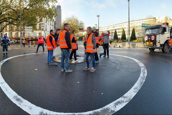 Manif des acteurs du BTP le 28 novembre 2019 à Nantes