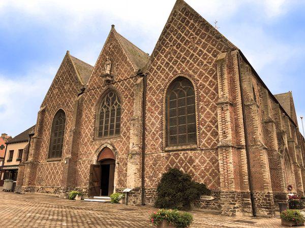 L'église Saint-Folquin d'Esquelbecq