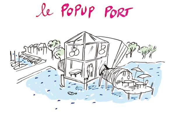 Le projet de Pop up port de la CCI Nantes-Saint-Nazaire