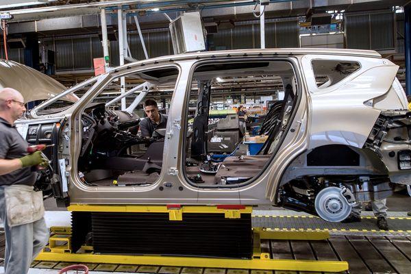 L'usine Renault de Douai en 2014. (Illustration)