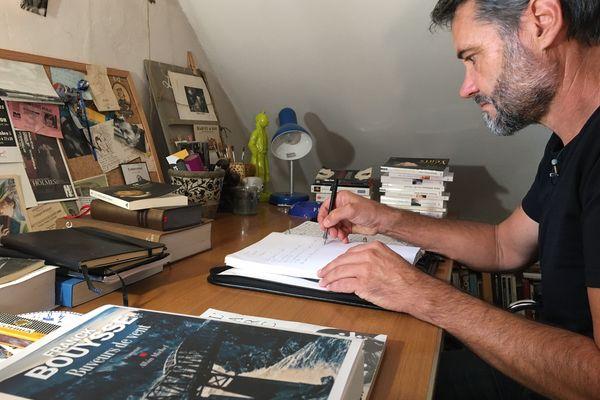 """Franck Bouysse, un des auteurs présents à """"Lire à Limoges"""" 2021"""