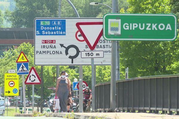 Hendaye n'est qu'à quelques kilomètres de la frontière espagnole.