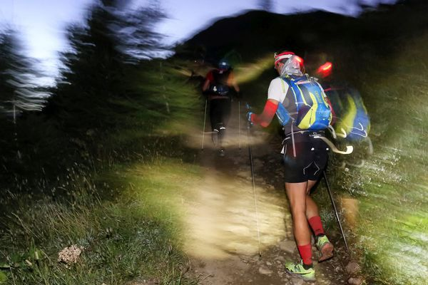 L'ultra-trail du Mont-Blanc, en 2016