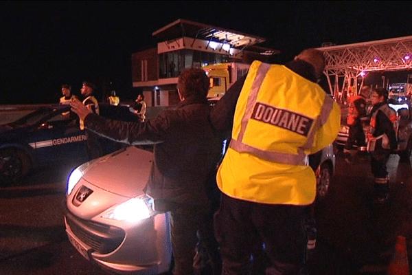 Gendarmes et douaniers étaient mobilisés ce mercredi soir pour une opération de contrôle au péage de Dozulé