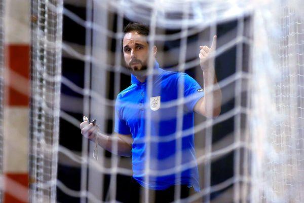 Emmanuel Mayonnade, le nouvel entraîneur de Metz handball.