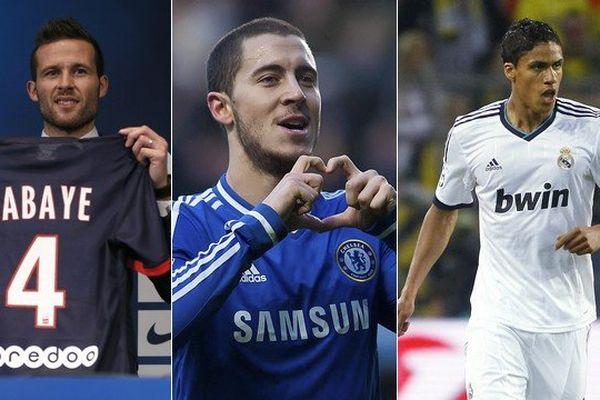 Après Yohan Cabaye, Eden Hazard et Raphaël Varane pourraient eux aussi rapporter gros aux clubs nordistes en cas de transfert.