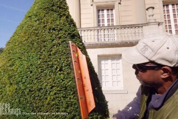 """Frédéric Rochambeau : """"Quand j'arrive ici, je vis, parce que je trouve que c'est vraiment magnifique."""""""