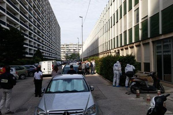 La rue Léon Paulet dans le 8 eme arrondissement de Marseille