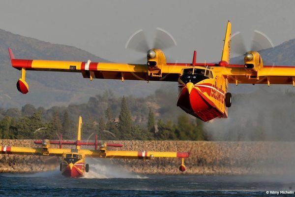 Deux Canadair basés à Nîmes-Garons partent ce mercredi matin en Italie pour participer aux combats contre d'importants feux de forêt.
