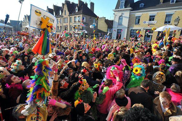 Le carnaval de Bergues en 2012.