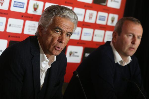 Retour du duo de dirigeants Rivère-Fournier à Nice.
