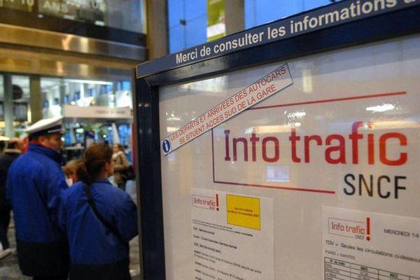 Mouvement social, trafic des trains perturbé dans les Pays de la Loire