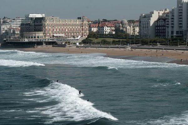 Le front de mer de Biarritz où se déroulera le sommet du G7 cet été.