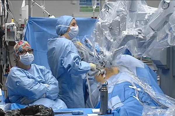Lors d'une opération à Lyon. Avril 2016