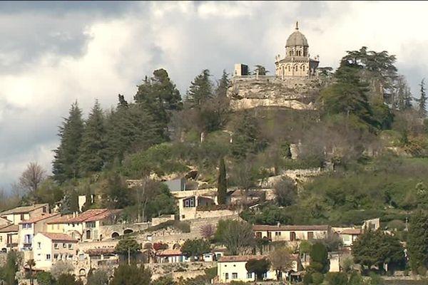 La commune de Forcalquier dirigée jusqu'en 2017 par Christophe Castaner.