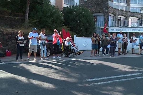 Le personnel du centre de rééducation fonctionnelle Mer Air Soleil de Collioure ont entamé depuis le 13 septembre un mouvement de grève reconductible tant que des négociations n'auront pas été ouvertes avec la direction.
