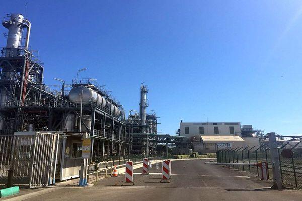 Sète (Hérault) - l'usine Saipol - juin 2018.