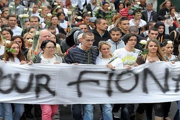 Marche pour la mémoire de Fiona - octobre 2013.