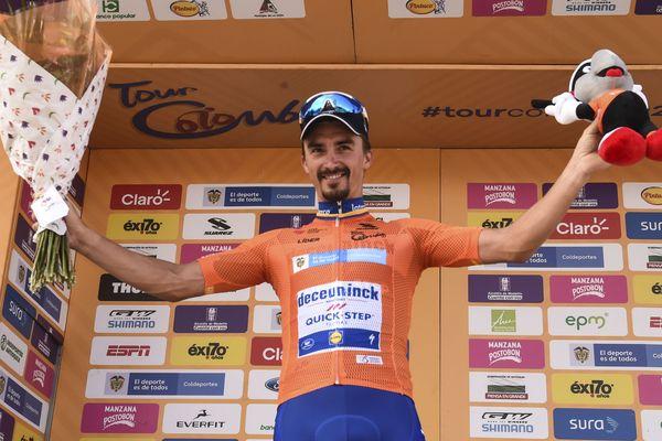 Le cycliste de Montluçon Julian Alaphilippe a démontré sa qualité de grimpeur sur le relief sud-américain, en remportant la cinquième étape du Tour de Colombie, le samedi 16 février.