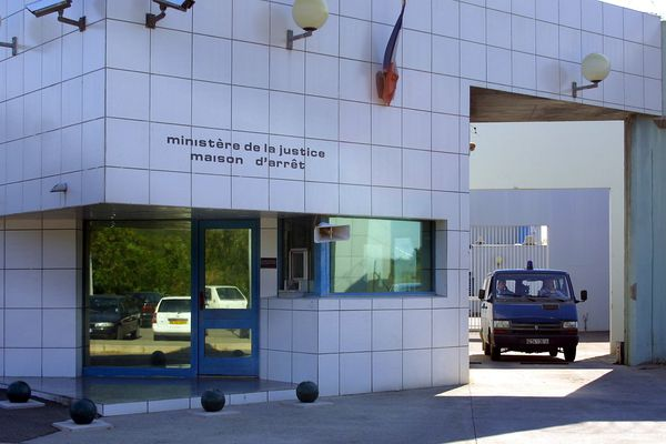 Maison d'arrêt de Borgo, en Haute-Corse.