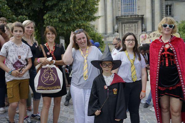 Environ 200 personnes étaient inscrites au jeu de piste version Harry Potter à Reims ce samedi 22 juin