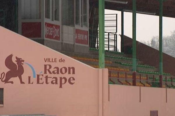 Le stade Paul Gasser à Raon l'Etape, où la rencontre se déroulera