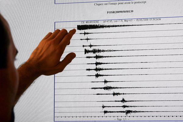 Un faible séisme a été ressenti ce lundi midi à la frontière des Vosges et de l'Alsace.