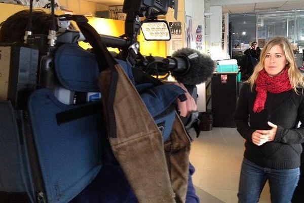 Karine Pellat, la journaliste-présentatrice de l'édition locale de Toulouse