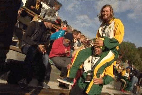 Le kayak-polo ne compte que 60 pratiquants en Afrique du Sud, pays invité par les championnats du monde à Thury-Harcourt.
