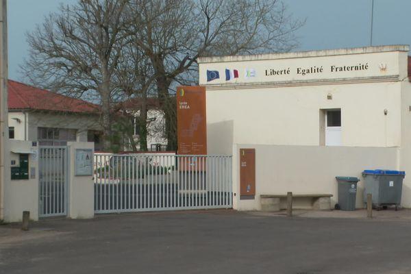 L'EREA Jean d'Orbestier, aux Sables d'Olonne fermera définitivement ses portes à la fin de cette année soclaire.