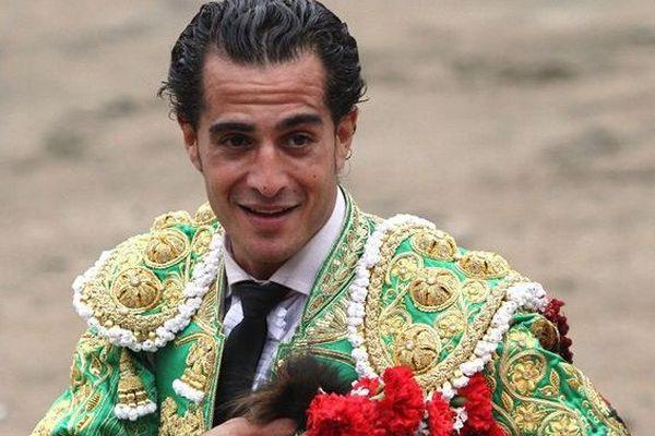 Le matador Ivan Fandino dans les arènes de Lima au Pérou.