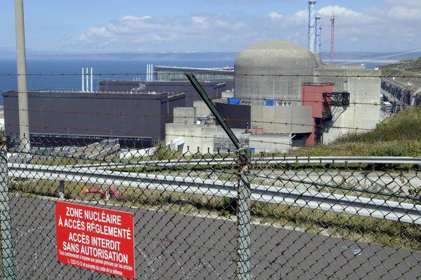 La centrale nucléaire de Flamanville.