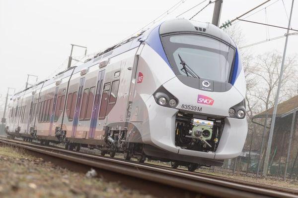 La région Occitanie a commandé 13 trains régionaux comme celui-ci à Alstom.