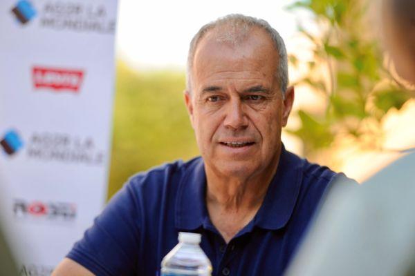 Vincent Lavenu le manager général de l'équipe savoyarde AG2R-La Mondiale