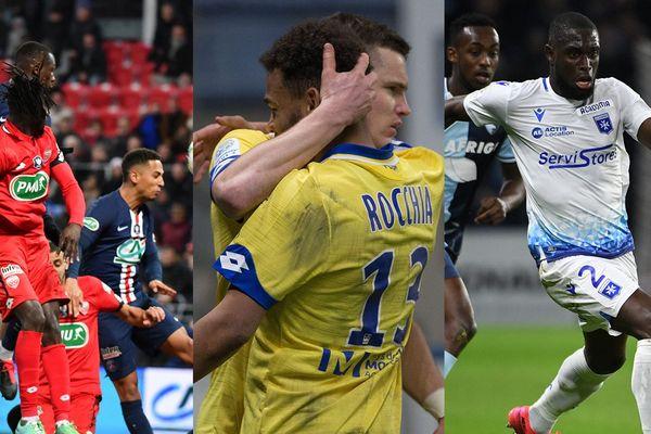 Dijon, le FC Sochaux-Montbéliard et Auxerre sont les trois clubs de football professionnels en Bourgogne-Franche-Comté.