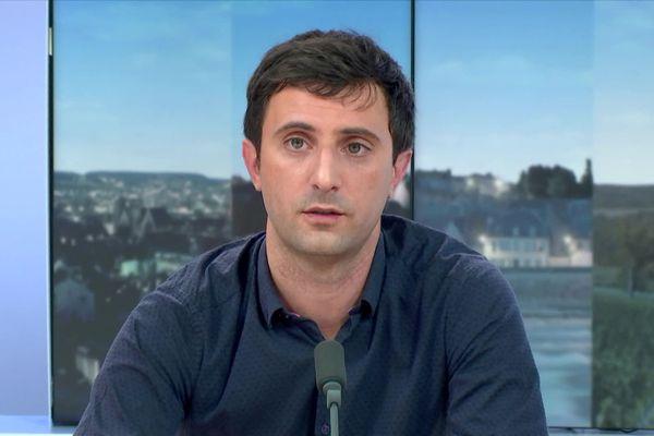 Le psychiatre Clément Guillet était l'invité du 19/20 de France 3 Bourgogne jeudi 29 octobre.