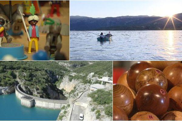 Le lac de Sainte Croix et sa région cachent des trésors.