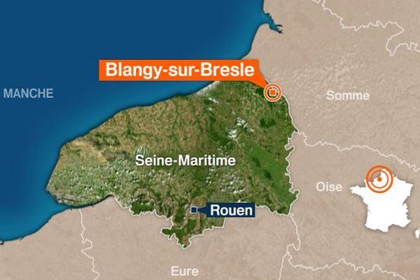 Le conducteur descendait de la Somme par l'A28 et a été contrôlé à hauteur de Blangy-sur-Bresle.