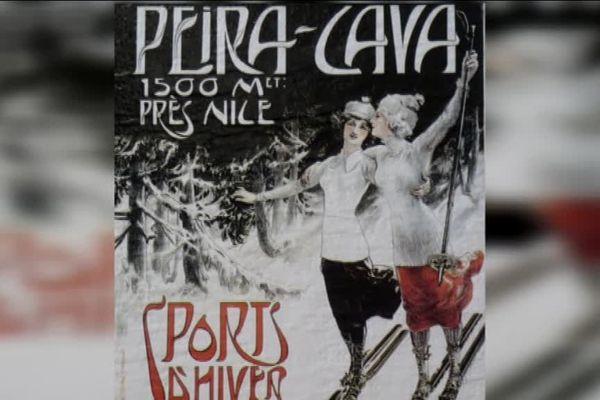 Les sports d'hiver à Peïra-Cava au début du 20eme siècle