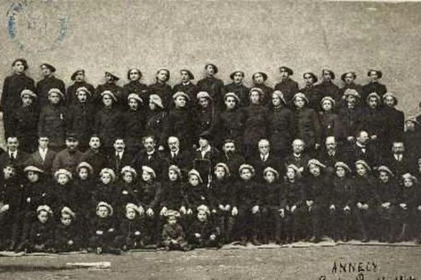 Des réfugiés au lycée Berthollet d'Annecy