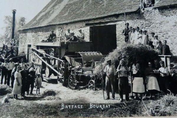 En août 43, plus d'une quarantaine d'actes de sabotage ont visé les récoltes du nord-Dordogne pour empêcher de fournir du blé à l'Allemagne occupante