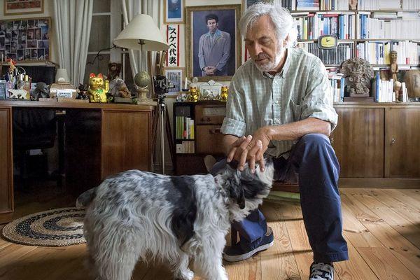 Jean-Paul Dubois à son domicile toulousain