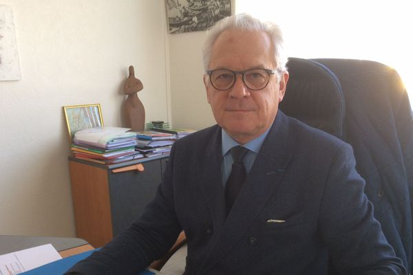 Patrick Jouin a été élu maire de La-Faute-sur-Mer en 2014. C'était 4 ans après la tempête Xynthia.
