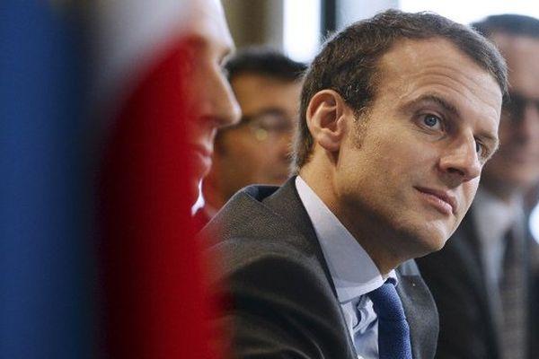Emmanuel Macron à la foire de Châlons-en-Champagne